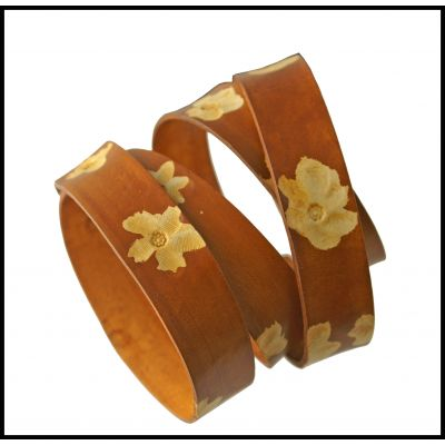 Leather strap bracelet example2