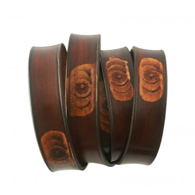 ECO Friendly Hand Tooled Leather Strap