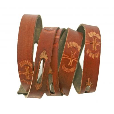 ECO Friendly Tooled Leather